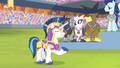 Shining Armor announcing the anthem S4E24.png