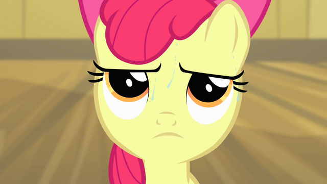 File:Apple Bloom sweating S4E17.png