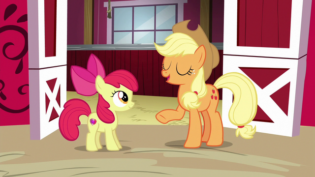 "File:Applejack ""I couldn't be more proud"" S6E14.png"