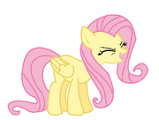 FANMADE MS Paint Fluttershy yay