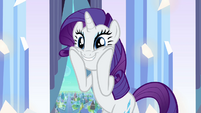 "Rarity ""There are Crystal Ponies?!"" S3E1"