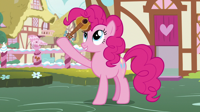 File:Pinkie Pie stuffs the guitar into her mane S7E9.png