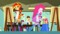 Pinkie drums in the middle of the art room SS10.png