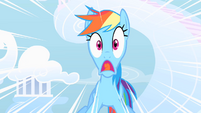 Rainbow Dash freaks out S1E16