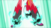 Sunset Shimmer's demon boots appearing EG