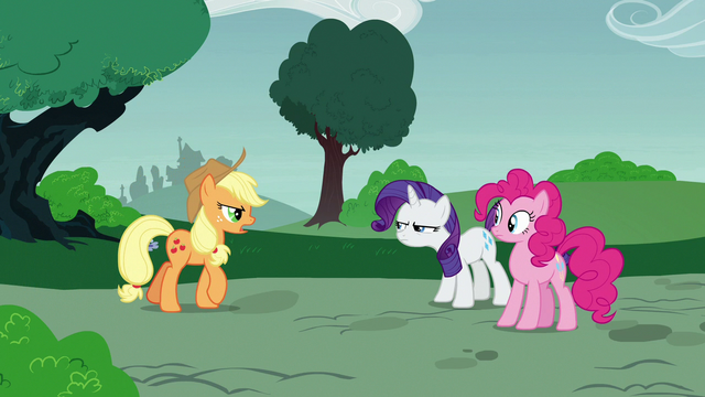 """File:Applejack """"you wanted me to be a judge"""" S7E9.png"""