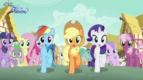 Disney Channel España My Little Pony Las marcas de la belleza