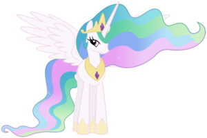 File:FANMADE Princess Celestia by Mihaaaa.png