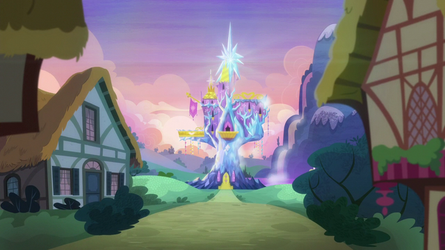 File:Friendship Rainbow Kingdom castle in the distance S5E3.png