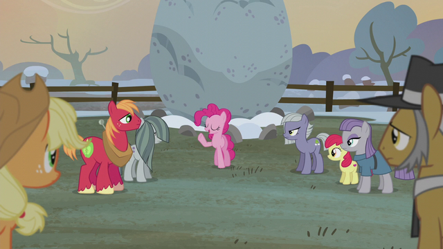 "File:Pinkie Pie ""the first flag was sewn by"" S5E20.png"