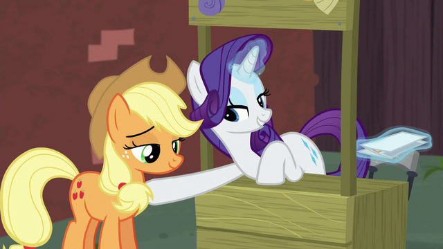 """File:Rarity """"and you were so worried"""" S5E16.png"""