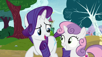 "Rarity ""this is a very long line"" S7E6"