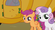 Scootaloo 'You'll be able to ride on it with us' S3E4