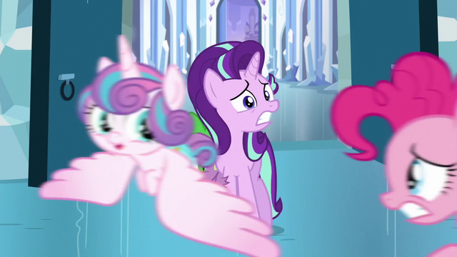 File:Starlight and Spike sees Pinkie chasing after Flurry Heart S6E2.png