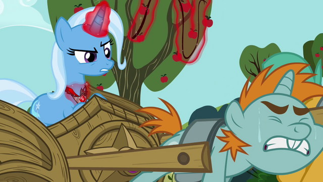 "File:Trixie ""And Trixie intends to punish them!"" S3E5.png"