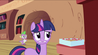 Twilight Sparkle worried face S2E03