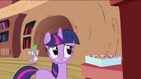 Twilight Sparkle worried face S2E03