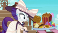 Pinkie offering snacks to elegant Rarity S6E22.png