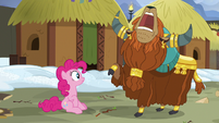 "Prince Rutherford shouting ""horn bump!"" S7E11"