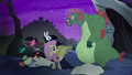 Swamp monster appears behind Fluttershy S5E21.png