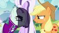 Applejack and Countess Coloratura face-off S5E24.png
