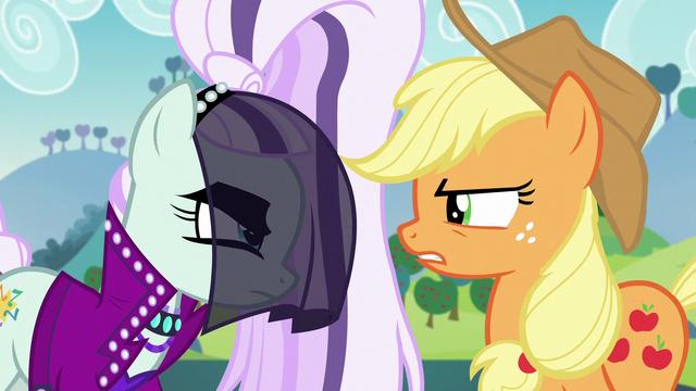File:Applejack and Countess Coloratura face-off S5E24.png