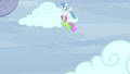 Merry May and White Lightning moving a cloud S5E5.png