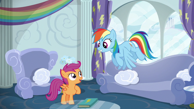File:Scootaloo asks for Rainbow Dash's help S6E14.png
