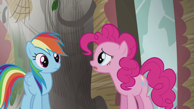 "File:Pinkie ""No wonder Twilight's book ended with the coronation of King Guto"" S5E8.png"