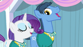 Rarity and Toe-Tapper singing S4E14.png