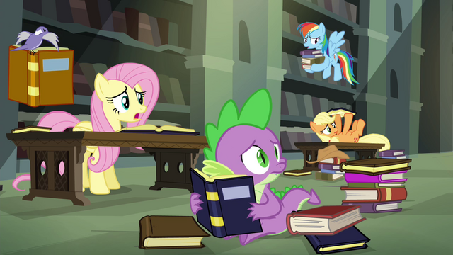 File:Twilight's friends haven't found anything S4E25.png