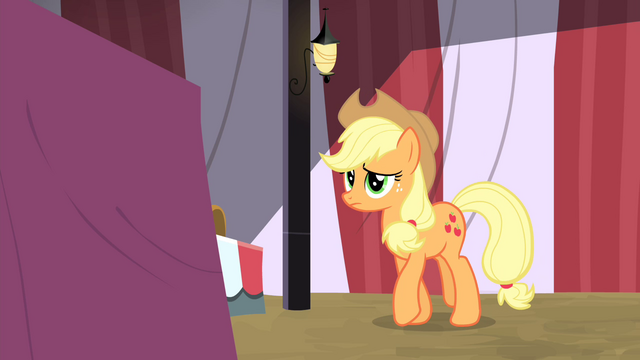File:Applejack walking towards the table S4E20.png