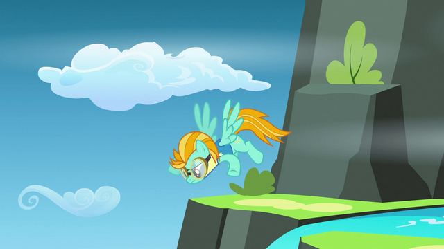 File:Lightning keeping an eye out for flags S3E7.png