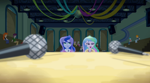 "File:Principal Celestia ""please do not drop the microphones"" EG2.png"