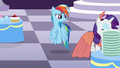 Rainbow sees Rarity walking away S5E15.png