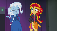 Trixie gloating about Sunset Shimmer's failure EG2