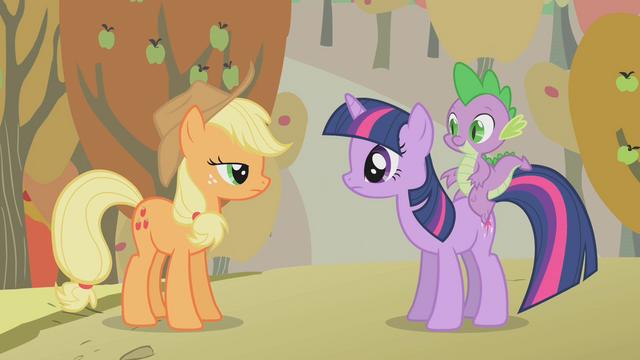 File:Applejack and Twilight S01E13.png