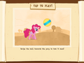 Ball Bounce minigame instructions MLP Game.png