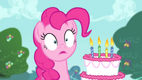 Pinkie Pie in shock S4E23