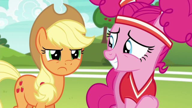 File:Applejack disappointed in Pinkie Pie S6E18.png