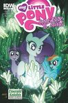 Comic issue 8 Emerald Knights cover