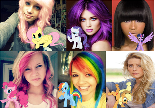 File:FANMADE the ponies as humans.png