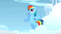 Rainbow Dash about to start S1E16