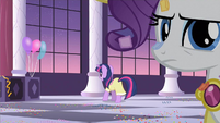 Rarity catching ear S2E9