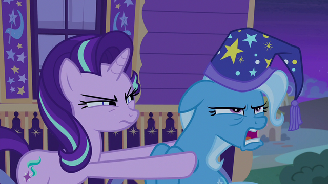 "File:Trixie groaning ""even Trixie's made mistakes"" S6E25.png"