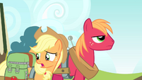 Applejack 'I know, I'm probably just bein' silly' S4E17