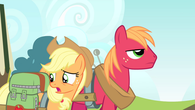 File:Applejack 'I know, I'm probably just bein' silly' S4E17.png