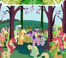 Eplefamilien