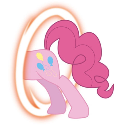 File:FANMADE Pinkie portal back by blackgryph0n-d3f93p8.png