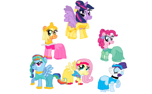 File:FANMADE Princesses of Elements of Harmony.png
